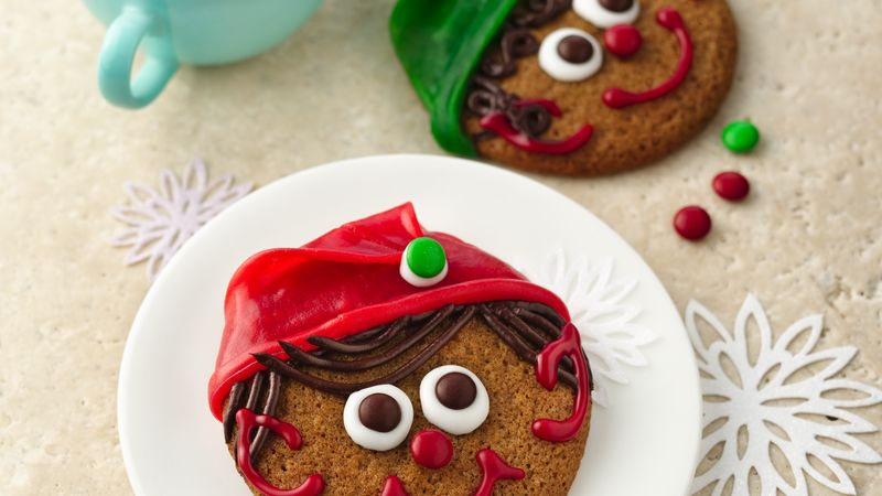 Ginger Elf Christmas Cookies