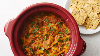 Slow-Cooker Smoky Chorizo Bean Dip