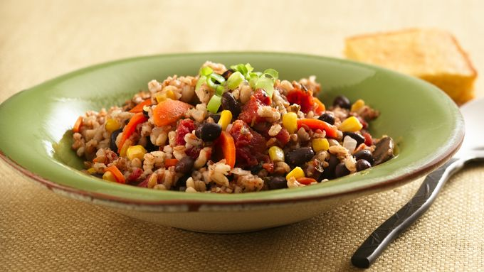 Grain and Vegetable Casserole