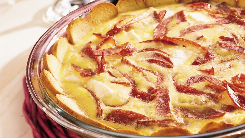 Salami Egg Bake