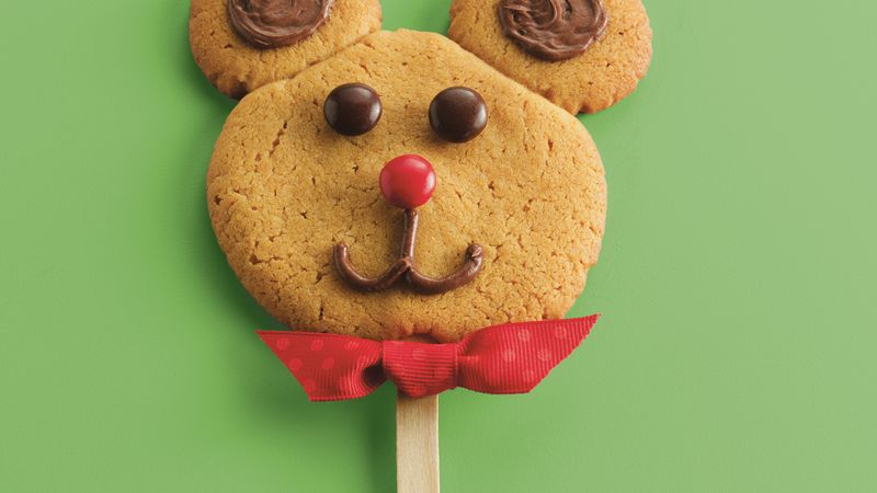 Bear Cookie Pops