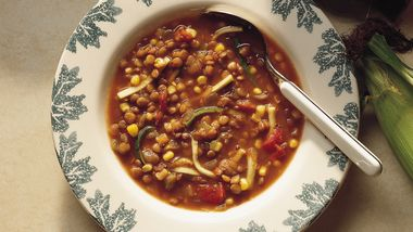 Lentil-Vegetable Soup
