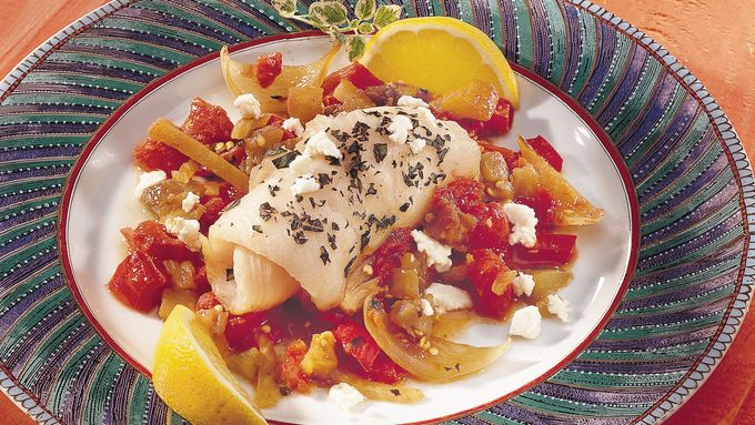 Mediterranean Sole with Ratatouille