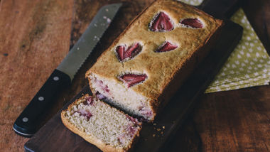 Strawberry Coconut Bread
