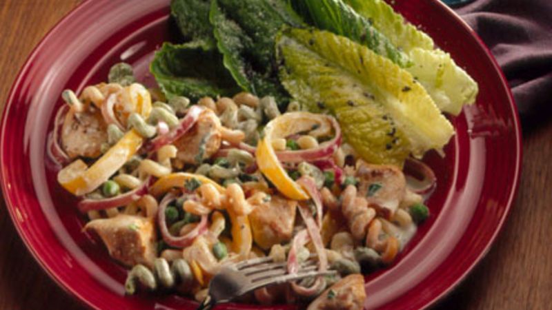 Chicken and fusilli pasta recipe
