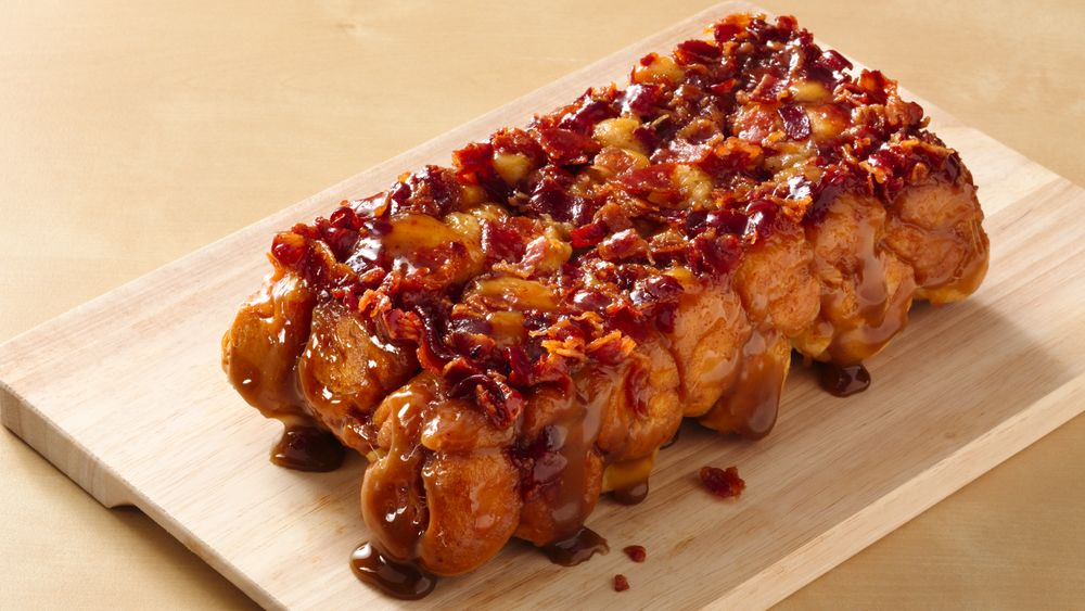 Maple Bacon Monkey Bread (Party Size)