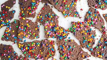 Birthday Cake Brownie Brittle