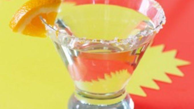 Mandarin Cosmo Cocktail