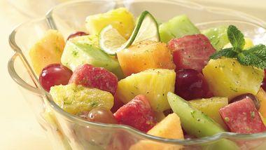 Speedy Honey-Lime Fruit Salad