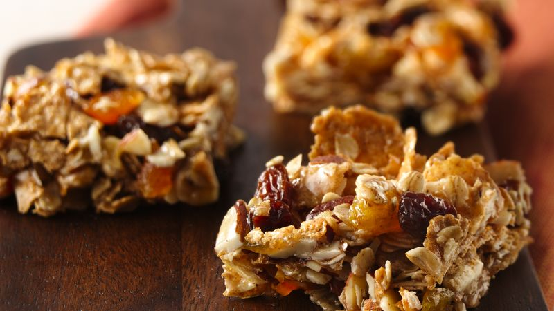 No Bake Oatmeal Bars Recipe From Betty Crocker
