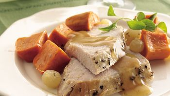 Slow-Cooker Turkey Breast with Sweet Potatoes
