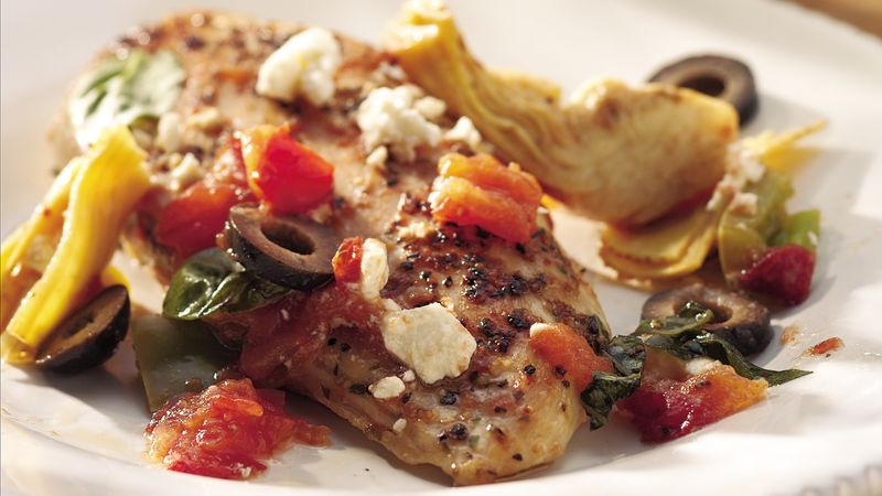 Antipasto Chicken