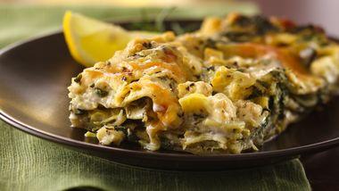 Artichoke-Spinach Lasagna