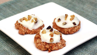 Carrot Cake-Oatmeal Cookies