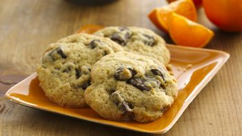 Orange Chocolate Chunk Cookies