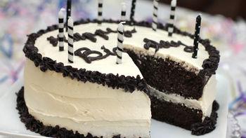 Rum and Cola Birthday Cake