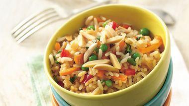 Slow-Cooker Spring Rice Pilaf