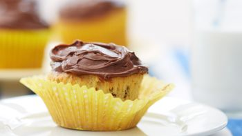 Banana-Chocolate Chip Cupcakes