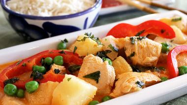 Thai Pineapple Red Curry Chicken