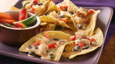 Slow-Cooker Spicy Chicken Nachos