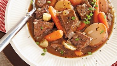 Winter Vegetable-Beef Stew