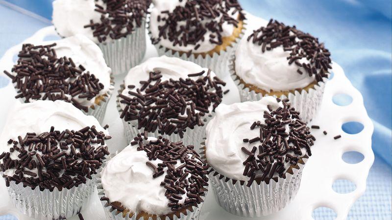 Black and White Rum Cakes