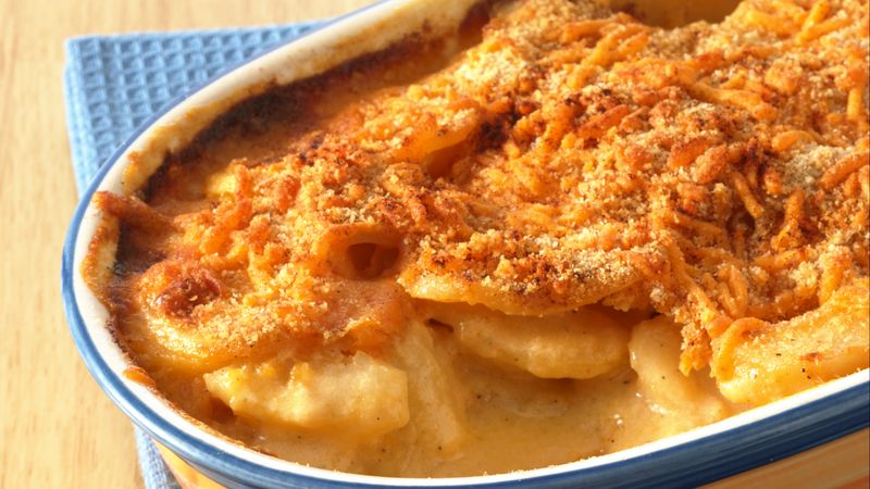 Au Gratin Potatoes recipe from Betty Crocker