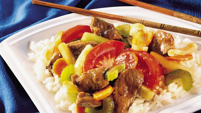 Five-Spice Beef and Vegetables