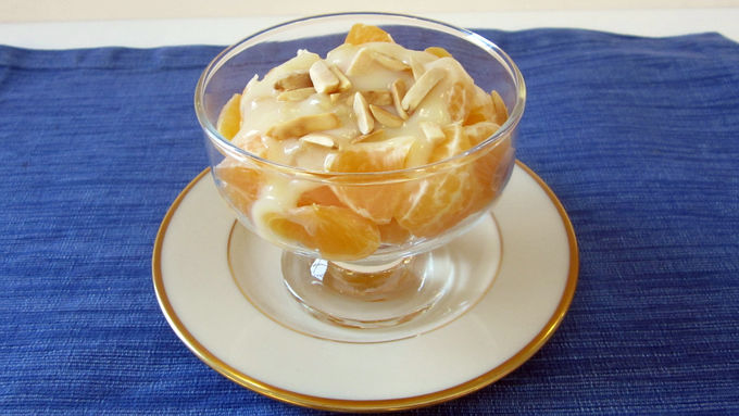 Clementine-Almond Ginger Cream