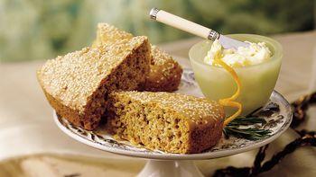 Savory Sweet Potato Pan Bread