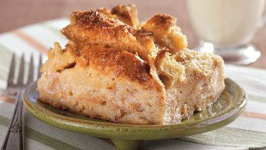 Maple Pecan Bread Pudding