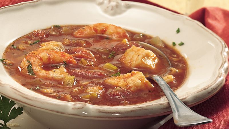 Slow-Cooker Seafood Stew