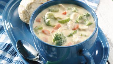 Broccoli-Chicken Chowder