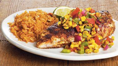 Tex-Mex Chicken with Corn Salsa