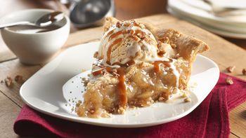 Caramel Apple Pie with Pecans