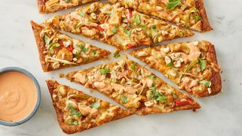Sriracha Thai Chicken Pizza
