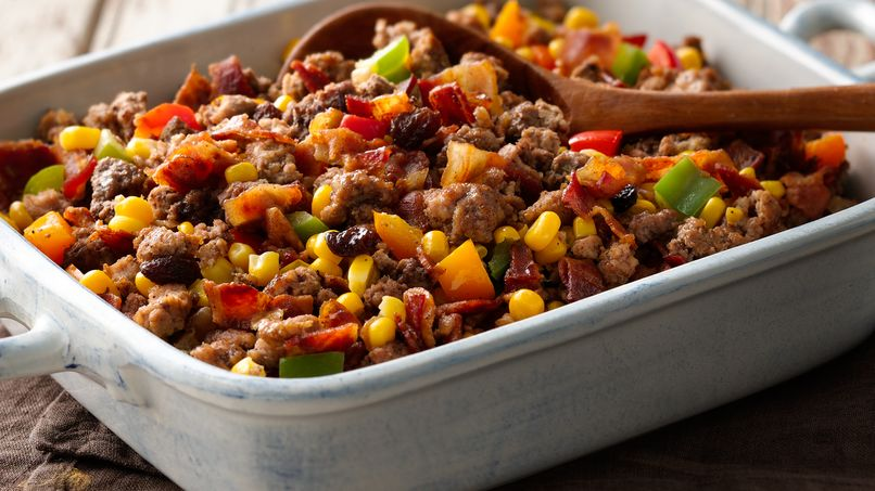 Meat and Corn Turkey Stuffing