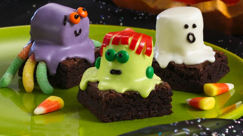 Traditional Spooky Brownies
