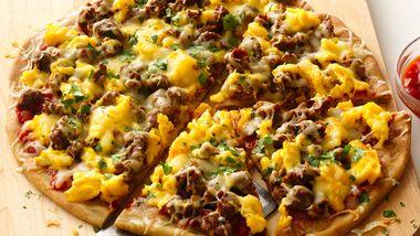 Gluten-Free Mexican Breakfast Pizza