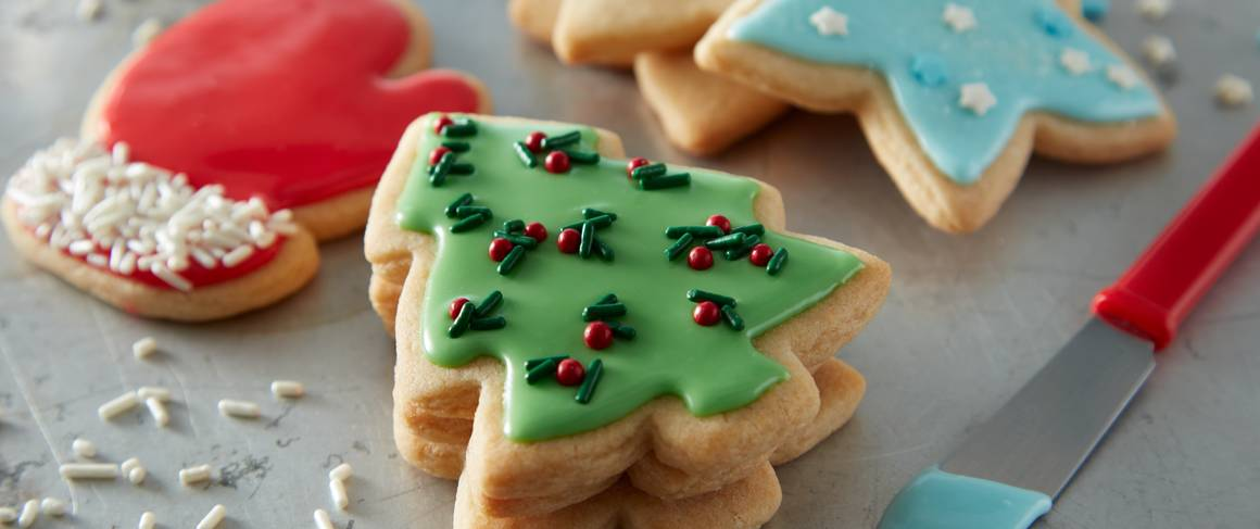 Icing recipe for christmas cutout cookies