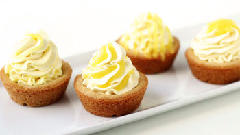Triple Lemon Cookie Cups