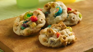 Bottom of the Cereal Box Cookies