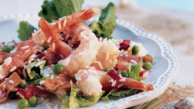 Shrimp Paella Salad