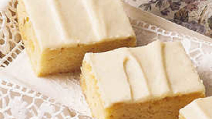 Triple-Vanilla Brownies