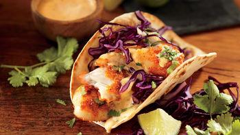 Baja Fish Soft Tacos