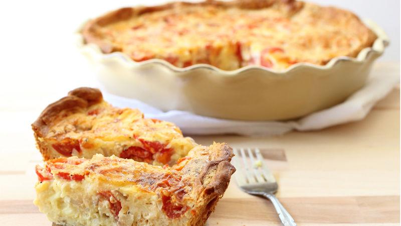 Tomato-Crescent Pie