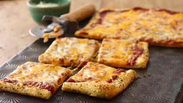 Italian Herb Crusted Cheese Pizza