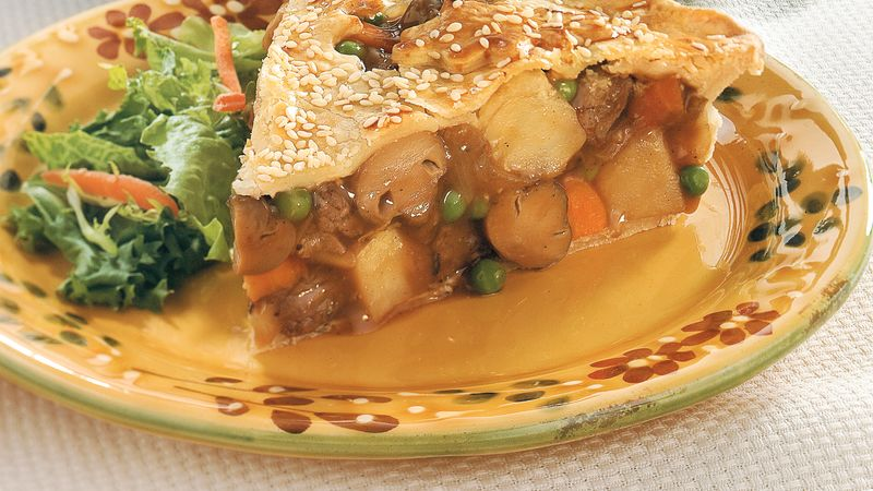 Winter Warm-Up Beef Pot Pie
