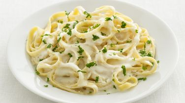 Espagueti estilo Alfredo