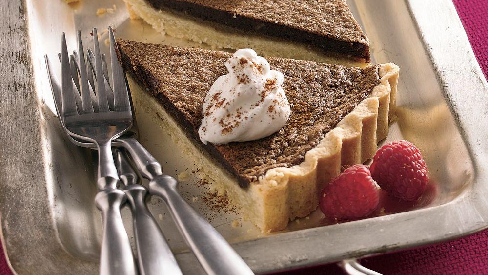Cinnamon-Almond-Chocolate Tart